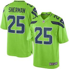 nfl jersey sales by team Nike Limited Grey Men s Jersey - Customized  Seattle Seahawks NFL Alternate 0bb66dc7c
