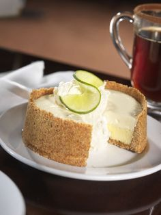 EASY KEY LIME PIE:Ingredients: 5 egg yolks, beaten 1 (14-ounce) can sweetened condensed milk ½ cup key lime juice 1 (9-inch) prepared graham cracker crust Directions: Preheat your oven to 375 degrees. Mix together the egg yolks, condensed milk and lime juice until well combined. Pour the mixture into the crust and bake for about 15 minutes. Cool, then top with whipped cream and lime slices, if desired.