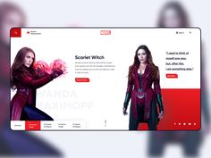 Avengers Characters Page designed by Gautham R. the global community for designers and creative professionals. App Ui Design, Site Design, Avengers Universe, Avengers Characters, Responsive Web, Marvel Entertainment, Web Design Inspiration, Illustrator, Ios