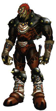 Il est un des hommes Gerudos qui naissent tous les cent ans. De son vrai nom Ganondorf Dragmire, il est plus connu sous le nom de Mandrag Ganon . Il apparaît dans presque tous les épisodes de Zelda, Il utilise généralement son fragment de Triforce pour tenter de réaliser ses désirs. Pour parvenir à ses fins, il enlève plusieurs fois la princesse Zelda pour l'empêcher d'exercer son pouvoir potentiel sur le royaume d'Hyrule. Il est associé à la Triforce de la Force.
