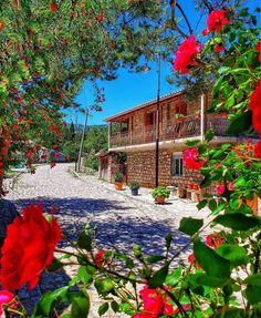 Voskopojë, Korçë Albania, Mansions, House Styles, Rose, Travel, Instagram, Photos, Pink, Viajes
