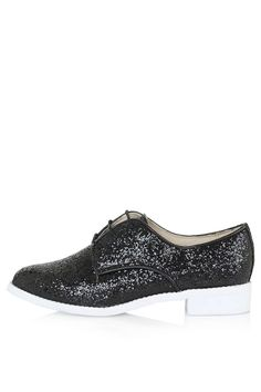 FLASH Glitter Lace Up Shoes - Topshop: £28