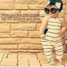 When you're a little chubby-but still got style and swag ~ So cute and so very so true Funny Quotes, Funny Memes, Hilarious, Qoutes, Humorous Sayings, Laugh Quotes, Life Quotes, True Sayings, Quotations