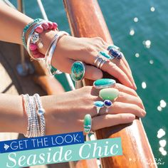 Anchors aweigh! 5 Tips to get a Seaside-Chic look. | Silpada Blog #SilpadaStyle www.mysilpada.com/dana.sprouse