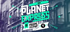 Planet Express font – unconventional, provocative, attractive