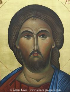 The icon of Jesus Christ IC XC NIKA - Ο Χριστος