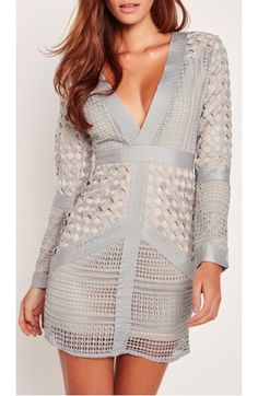 Main Image - Missguided Lace Body-Con Dress