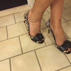 Ny zebra shoes ❤️