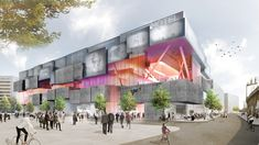 Shoppers will be able to skydive and surf at this shopping centre in Berlin: