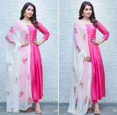 Pretty in pink in & for interviews Simple Kurtis, Kurtis With Pants, Ram Photos, Punjabi Dress, Indian Fashion, Womens Fashion, Ethnic Outfits, Special Dresses, Kurta Designs