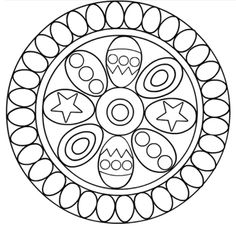 another Easter mandala Spring Coloring Pages, Quote Coloring Pages, Easter Coloring Pages, Mandala Coloring Pages, Colouring Pages, Adult Coloring Pages, Coloring Sheets, Coloring Books, Quilting Templates