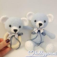 Crochet Cow, Crochet Baby Toys, Crochet Rabbit, Newborn Crochet, Crochet Patterns Amigurumi, Amigurumi Doll, Baby Blanket Crochet, Cow Baby Showers, Newborn Toys