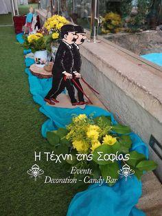 Βαπτιση με θεμα τον Τεν Τεν Μια βροχερή Κυριακή σήμερα έγινε η βάπτιση του μικρού Γιώργου! Κίτρινο τυρκουάζ και καφέ της άμμου τα ...