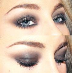 Jag använde:  Too faced Shadow insurance  NYX Smoky eye kit  MUS Eyepencil black