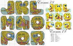Monograma Bob Esponja 2