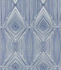 Nate Berkus Home Decor Print Fabric- Linea Paramount Caspian