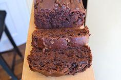 The Happy Healthy Kitchen: Chocolate Lover's Healthy Banana Bread