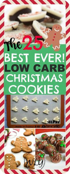 25 Days of Keto Christmas Cookies (Gluten free, sugar free and low carb) 25 low carb Christmas cookies that make the best healthy and gluten free recipes! These are also keto Christmas cookie recipes that are terrific keto Christmas desserts. Keto Cookies, Cookies Gluten Free, Cookies Et Biscuits, Chip Cookies, Keto Holiday, Holiday Desserts, Holiday Recipes, Holiday Cookies, Holiday Baking