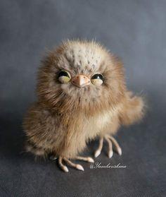 Owl Proshka. by By Marina Yamkovskaia | Bear Pile