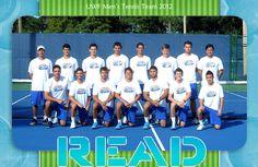 UWF Men's Tennis 2012