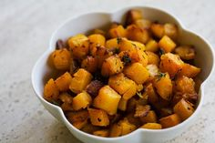 Butternut Squash with Browned Butter and Thyme (recipe)