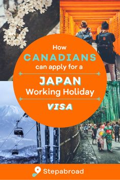 This step-by-step guide breaks down how Canadians can get a working holiday visa for Japan allowing you to work and travel for up to one year in Japan.   We go over the requirements, eligibility and all the documents you need to gather before applying. Working Holiday Visa, Working Holidays, Work Travel, Step Guide, To Go, How To Apply, Japan, Canning, Life