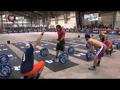 CrossFit - Central East Regional Live Footage: Men's Event 7