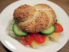 Xandra bakt brood: Sesam-durumbroodjes (ca.10)