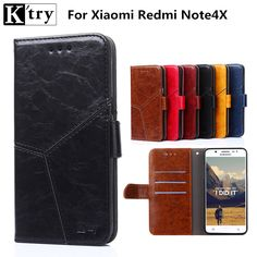 Xiaomi Redmi Note 4X Case Xiaomi Redmi Note 4X Cover Flip Wallet Case for Xiaomi Redmi Note 4X Phone Fundas
