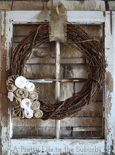love this wreath...