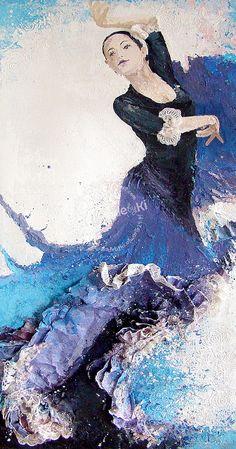 HANDMADE by Ki: (1) tancerka flamenco