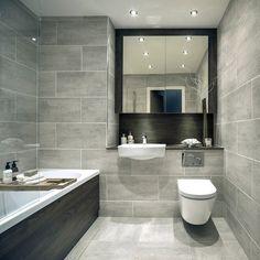 Light Grey Bathroom Floor Tiles Light Grey Bathrooms On inside sizing 800 X 1291 Bathroom Grey Floor Tiles - Good bathroom tile design and style should Bad Inspiration, Bathroom Inspiration, Modern Bathroom Design, Bathroom Interior Design, Classic Bathroom, Bath Design, Grey Bathroom Floor, Small Grey Bathrooms, Best Bathroom Tiles