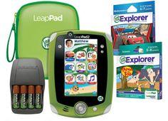 LeapPad2™ Disney Ultimate Bundle - Green - English Version #LeapFrogWishList