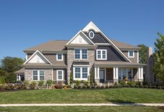 Front of Fischer Home's Parade House at the 2015 Central Ohio BIA's Parade of Homes