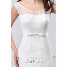 Svadobné šaty s čipkou Adina One Shoulder Wedding Dress, Wedding Dresses, Fashion, Bride Dresses, Moda, Bridal Gowns, Fashion Styles, Weeding Dresses, Wedding Dressses