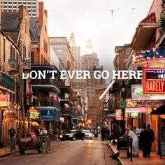 22 things you have to explain to out-of-towners about New Orleans.  It's fun, and 99% of it is spot on!