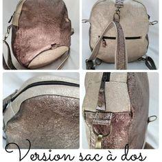 Laure Simon sur Instagram : ✨Sac à dos / Sac bandoulière✨ Voici la demande de ma cousine, pourrais tu me me faire un sac bandoulière qui se transforme en sac à dos…
