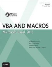 VBA and macros for Microsoft Excel 2013.  Auteur: Bill Jelen, Tracy Syrstad