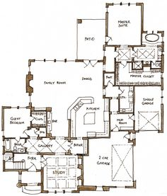French eclectic on pinterest french country dining for French eclectic house plans