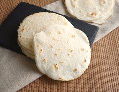 Tortillas mexicanas listas para servir