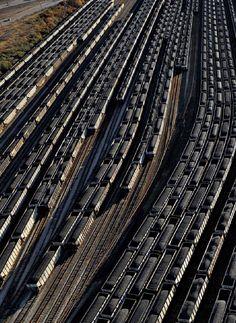 coal trains Norfolk Virginia from Overdevelopment, Overpopulation, Overshoot Human Overpopulation, Norfolk Virginia, Stunning Photography, Ecology, Geography, Railroad Tracks, Trains, City Photo, Transportation