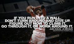 The Wall - Michael Jordan