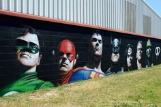 LA LIGA DE LA JUSTICIA / THE JUSTICE LEAGUE  Artist: Owen Dippie  Photo: Shellie #JusticeLeague Comics SuperHeroes