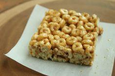 3 Ingredient Peanut Butter & Honey Cereal Bars |