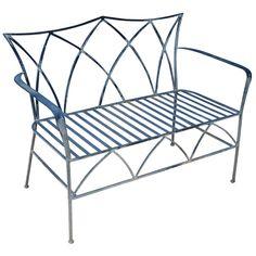 1stdibs.com | Wrought Iron Bench