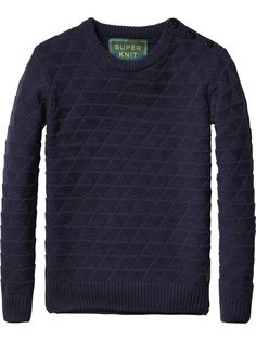Cable Knit Pullover | Pullover | Men's Clothing at Scotch & Soda
