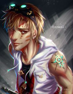 Man Ezreal  gathered by http://how2win.pl