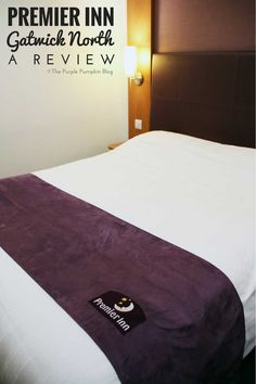 Premier Inn, Gatwick North: A Review http://www.thepurplepumpkinblog.co.uk/2016/10/premier-inn-gatwick-north-a-review.html A great hotel just minutes away from Gatwick Airport, London.