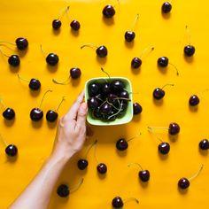 cherries fruit fruits yummy food instagram summer