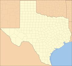 Texas Has The Most Counties Of Any Us State